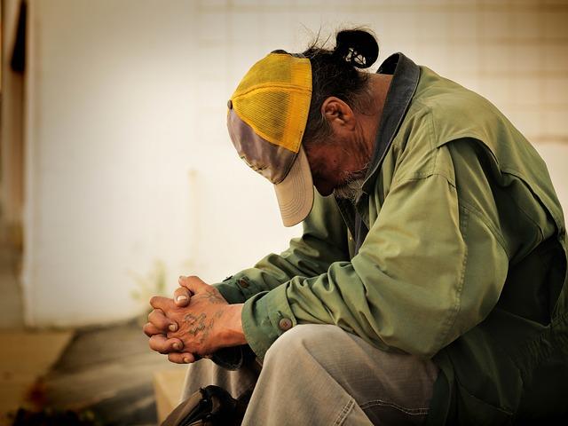 bezdomovec s culíkem