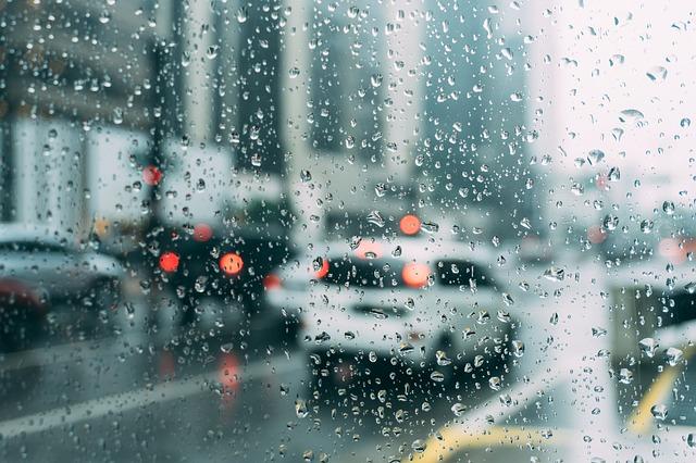 provoz za deště